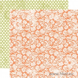 Echo Park Paper Co. - Victoria Gardens Collection - Blooming Blossoms, 30x30 cm