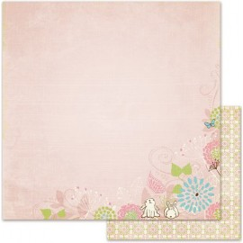 We R Memory Keepers - Cotton Tail Collection - Bunny Tail, 30x30 cm
