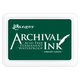 Archival Ink Ranger library green