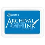 Archival Ink Ranger manganese blue