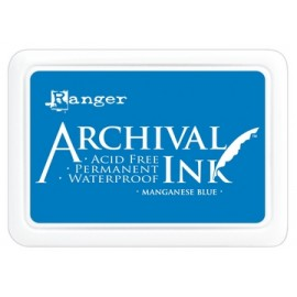 Archival Ink Ranger manganese blue