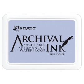 Archival Ink Ranger blue violet