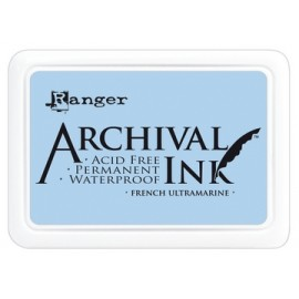 Archival Ink Ranger french ultramarine