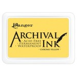 Archival Ink Ranger chrome yellow