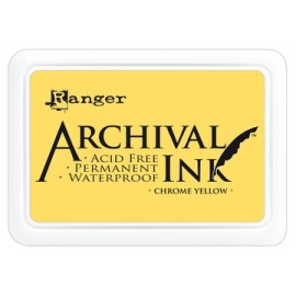 Archival Ink Ranger chrome yellow