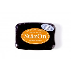 Ink Pad Stazon - Saddle Brown