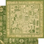 Graphic 45 - Olde Curiosity Shoppe Collection - Apothecary, 30x30 cm