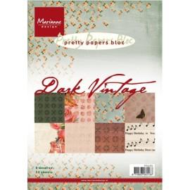 Paper bloc Dark Vintage , A5/ 32 SH