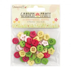Garden Party - Mini Buttons