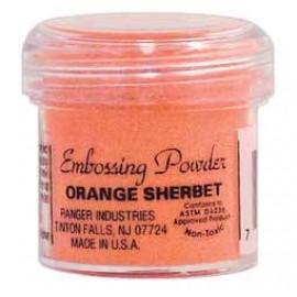 Embossing powder - Orange Sherbet / 21 gr