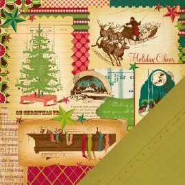 MakingMemories - Noel Collection - Christmas Collage Noel, 30x30 cm