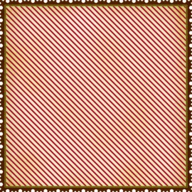 MakingMemories - Noel Collection - Postage Stripe Noel, 30x30 cm