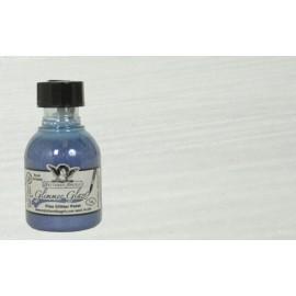 Glimmer Glaze Fine Glitter Paint - Sassy Silver, 28 ml
