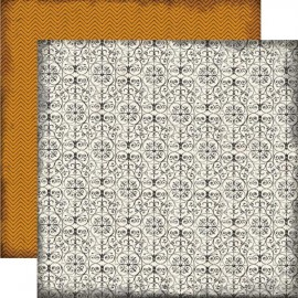 Echo Park Paper Co. - Chillingsworth Manor Collection - Iron Gate, 30x30 cm