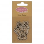 Clear Stamp - Fizzy Moon / Love , 4,9 x 5,6 cm