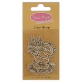 Clear Stamp - Fizzy Moon / Cake , 4,7 x 6,0 cm