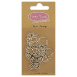 Clear Stamp - Fizzy Moon / Presents , 4,7 x 6,2 cm