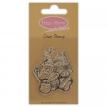 Clear Stamp - Fizzy Moon / Feast  , 4,7 x 5,9 cm
