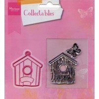 Collectables - Birdhouse home, Marianne Design