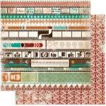 Bo Bunny - Mama-Razzi² Collection - Oh Snap, 30x30 cm