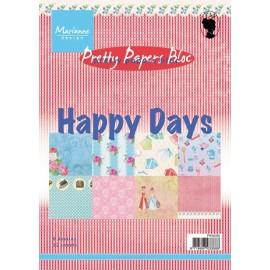 Paper Bloc - Happy Days, A5 / 32 SH