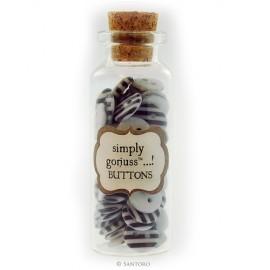 Santoro's Gorjuss - Buttons in a Bottle, 72 pcs.
