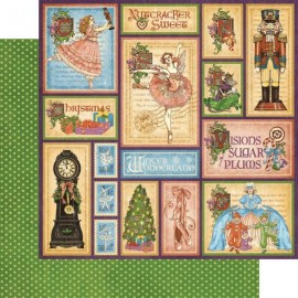 Graphic 45 - Nutcracker Sweet Collection - Holiday Magic, 30x30 cm