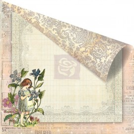Prima Marketing Inc. - Fairy Rhymes Collection - Periwinkle, 30x30 cm