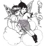 Clear Stamps - Fairy Rhymes #2, 6,3 x 7,6 cm