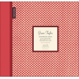 Grace Taylor Scrapbook Album - Polka Dots