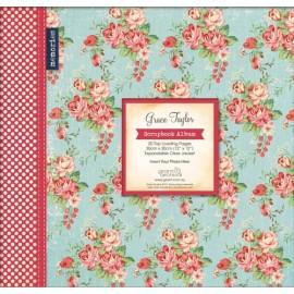 Grace Taylor Scrapbook Album - Vintage Floral