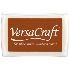 VersaCraft Ink Pad - Chocolate, 60x96mm