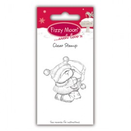 Clear Stamp - Fizzy Moon Christmas / Cuddles, 4,5 x 4,9 cm
