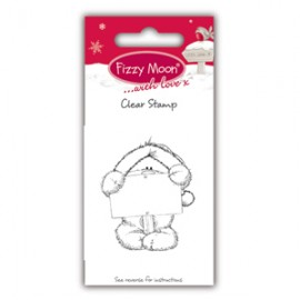 Clear Stamp - Fizzy Moon Christmas / Sign, 4,4 x 5,3 cm