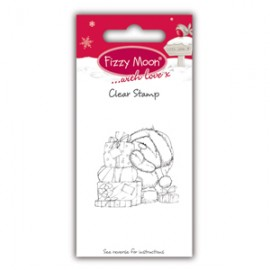 Clear Stamp - Fizzy Moon Christmas / Presents, 4,4 x 4,4 cm