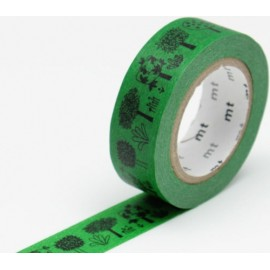 MT Masking Tape Kamoi Paper *Washi* - Olle Eksell - Trees, 15 mm x 10 m