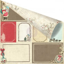 Dec. papier 2-sided Holiday Jubilee - Holiday Memories, 30x30 cm