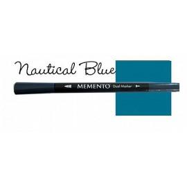 Memento Dual Marker - Nautical Blue