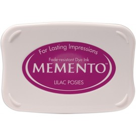 Ink Pad Memento - Lilac Posies