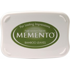 Ink Pad Memento - Bamboo Leaves