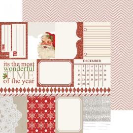 Teresa Collins - Santa's List Collection - Notecards, 30x30 cm