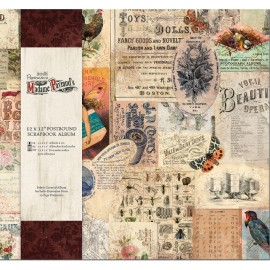 Postbound Scrapbook Album - Madame Payraud's, 30 x 30 cm