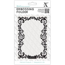 Embossing Folder - Leafy Border, 10 x 15 cm