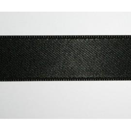 15mm DS Satin Ribbon Black , 1 m