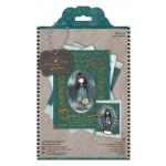 Santoro's Simply Gorjuss - Embellished Framed Decoupage Card Kit, A5