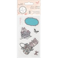 Clear Stamp - Bellisima - Shoes & Bags, 75 x 140 mm