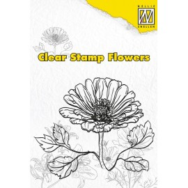 Clear Stamp Flowers - Marguerite, 60x72 mm