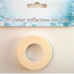 Easy to tear away tape 10 mtr x 10 mm