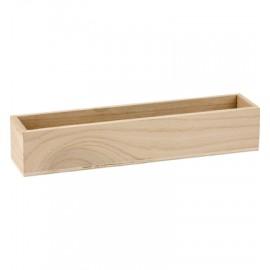 Wooden Box, 5 x 5 x 28cm
