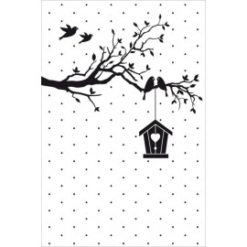 Embossing Folder Vintasia - New Home